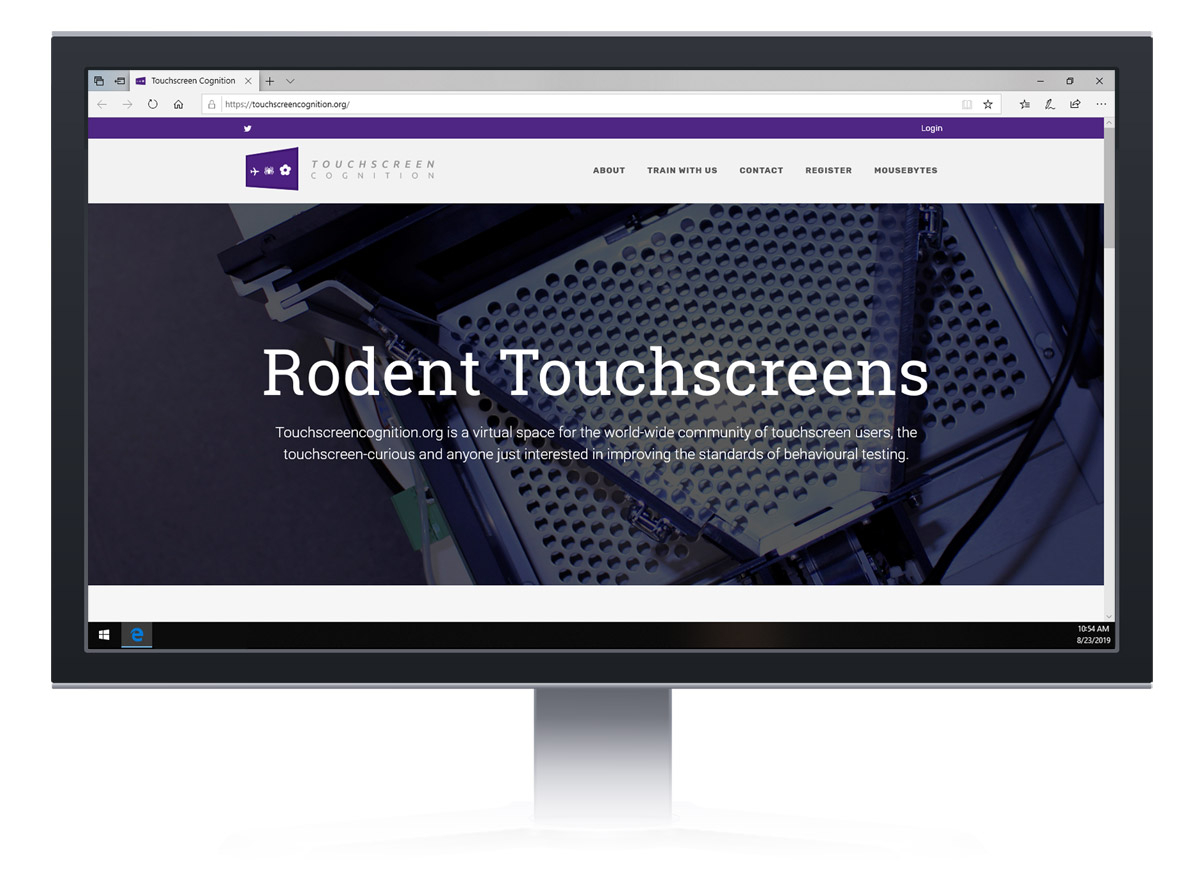 Touchscreencognition.org homepage